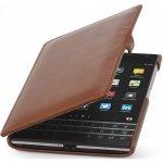 Pouzdro StilGut Book Type s klipem BlackBerry Passport Hnědá