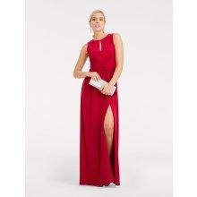 77ea0be24e6 heine TIMELESS večerní šaty vysoký rozparek červená