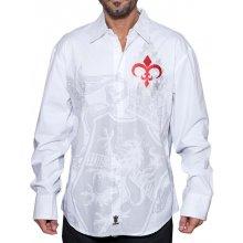Rebel Spirit pánská košile královský lev Bílá 6cf6c4c1c6