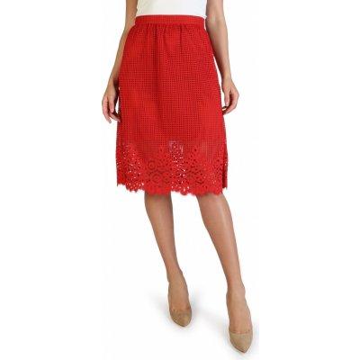 Tommy Hilfiger dámská sukně WW0WW22213 červená