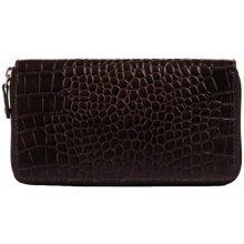 Estelle Dámská kožená peněženka SL 3 burgandi HNěDá
