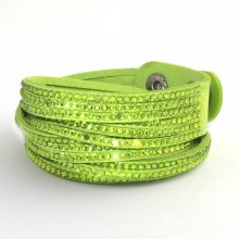 Tribal náramek green-peridot TBS03