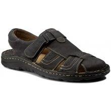 Sandály WALDI - 0051 Czarny Samuel
