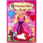 My Style Princess Omalovánka Princess Mimi Vybarvení podle očíslovaných polí