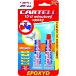 CARTELL CEP-12021 epoxidové lepidlo 2x12g transparentní