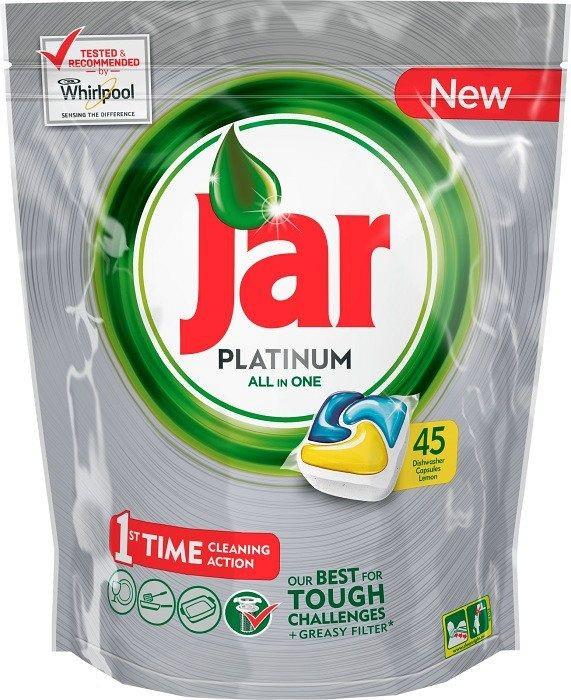 Jar kapsle Platinum Yellow Box 135 ks