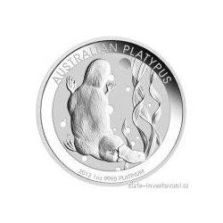 Investiční platinová mince ptakopysk 2017-Austrálie