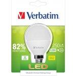 Verbatim LED žárovka E14 220-240V 4.5W 250lm 2700k teplá bílá