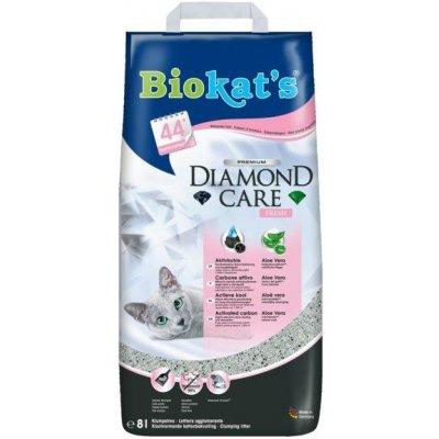 Biokats Diamond Care Fresh kočkolit 8l