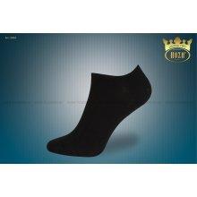 Hoza dámské kotníkové ponožky s elastanem černé mix 5 párů