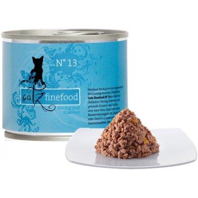 Petnature Catz Finefood No.13 se sleděm & krevetami 200 g