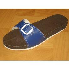 Zdravotni pantofle modré