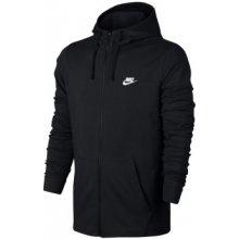 Nike M NSW HOODIE FZ JSY CLUB 861754-010 černá 250c3e4bdc7