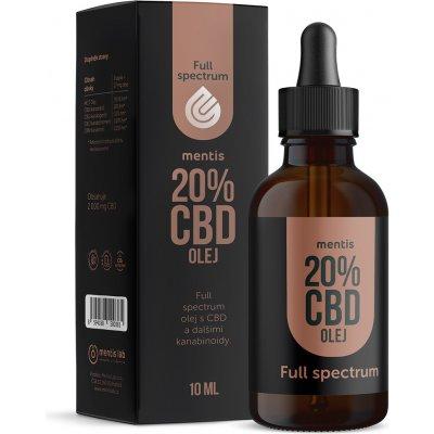 Mentis 20% CBD Full Spectrum olej 10 ml