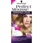 Schwarzkopf Perfect Mousse Permanent Color barva na vlasy 800 středně plavý
