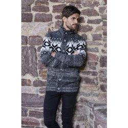 Pánský svetr s norským vzorem 7394 9ceab05df8