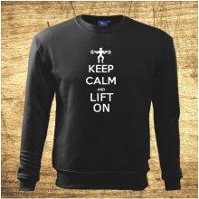 Keep calm and lift on Černá
