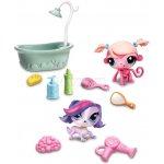 Hasbro Littlest pet shop 4 zvířátka s doplňky a přenosným balením