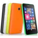 Kryt Nokia Lumia 630, 630 DualSIM zadní žlutý
