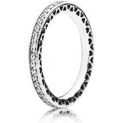Pandora Zamilovaný prsten s krystaly 190963CZ od 1 690 Kč - Heureka.cz 93edc570292