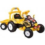 ARTI Elektrický traktor dětský O-KB yellow