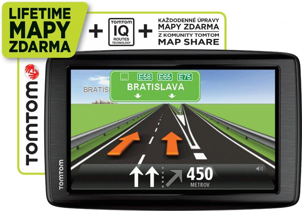 navigace do auta TomTom Start 25 Europe Lifetime