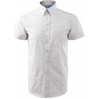 Adler košile shirt short sleeve bílá