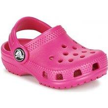 Crocs Pantofle Dětské Classic Clog Kids Růžová