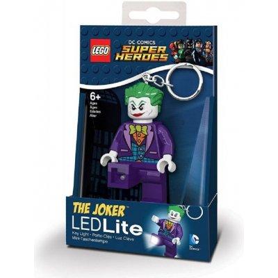 Přívěsek na klíče LEGO DC Super Heroes Joker svítící figurka