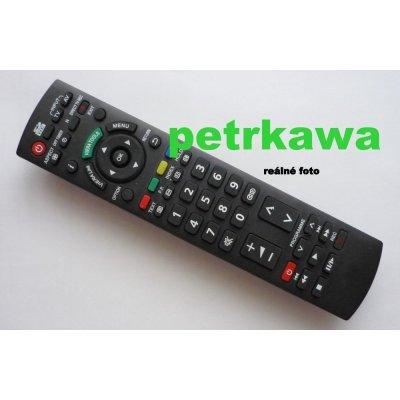 Dálkový ovladač PTW Panasonic N2QAYB000487 VIERA LCD PLAZMA Q-Link SD card