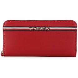 Tommy Hilfiger Dámská kožená peněženka Corp AW0AW05755červená ... 613b74b33b