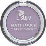 E style Matt Touch Eye Shadow Mono matové oční stíny 8 Mauve 6 g