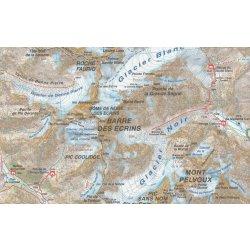 A6 Ecrins Bourg d'Oisans 1:50t mapa