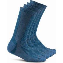 Craft Warm 2-pack ponožky modrá 677613 89c265f05e