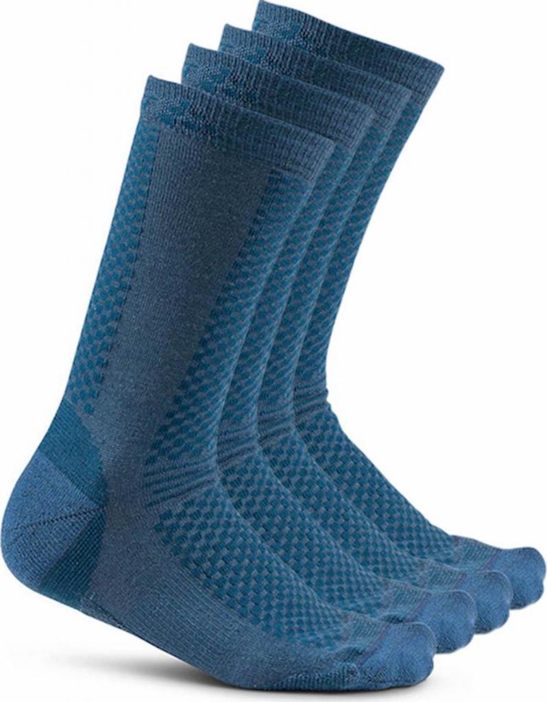Craft Warm 2-pack ponožky modrá 677613 od 552 Kč - Heureka.cz 4accc50b8c