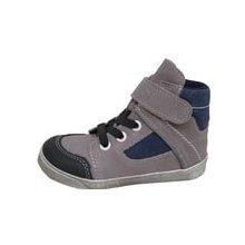 1fd58a9f5a0 Jonap 052MV dětská kožená obuv šedo modrá