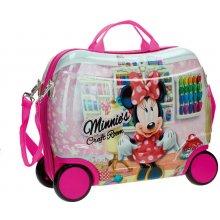 JOUMMABAGS Dětský kufřík na kolečkách Minnie Craft Room 25 l
