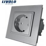 LIVOLO VL-C7C1-15 Elektrická zásuvka EU - stříbrná