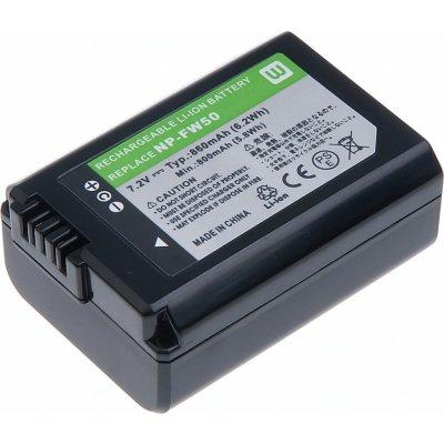 T6 power NP-FW50 1080 mAh baterie - neoriginální