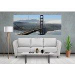 Coloriqa panoramatická fototapeta Most Golden Gate Bridge San Francisco 1350 Materiál: Vinyl Premium, Rozměr: 250 x 104 cm PAN