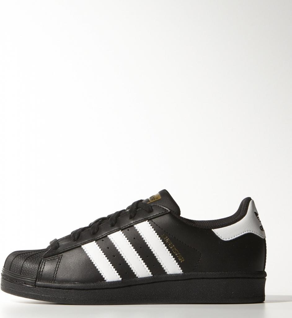 aa6de96081271 Adidas Superstar foundation j černá