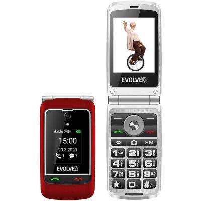 EVOLVEO EasyPhone FG Červená