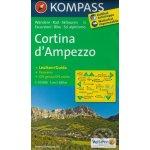 55 Cortina ď Ampezzo mapa 55