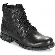 Mustang Kotníkové boty CHENOA Černá 9639d66bec