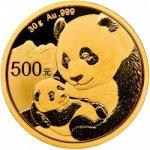 Panda Zlatá mince 30 g 2019