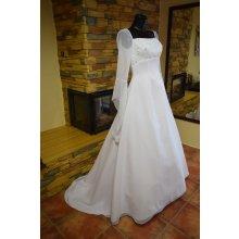 nové krásné svatební šaty, dovoz USA