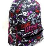 Diesel batoh Rock Music fialový/růžový