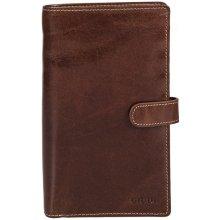Giudi pánská kožená peněženka 6872 hnědá