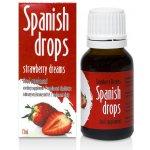 Španělské mušky s příchutí jahod 15ml