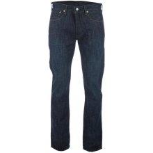 Levis Mens 501 Original Fit Tidal Blue Jeans Denim